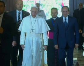 Pictures: Pope Francis in Egyptian capital