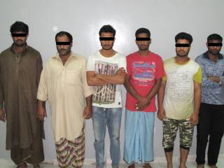 Gang arrested for stealing cables in RAK