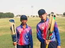 Panoli and Aravind record double century stand