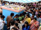 Indians throng temple to pray for visas