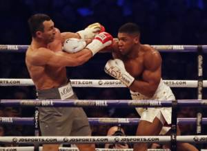 Joshua defeats Klitschko in heavyweight epic