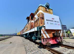 China-Britain freight train completes round trip