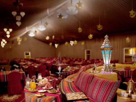 Al Hadheerah restaurant of Bab Al Shams Desert Resort & Spa