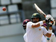 Slow-scoring Pakistan creep to 376 all out