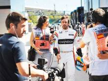 Things not going to plan for Alonso at McLaren