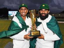 Misbah & Younis: Walking into the golden sunset