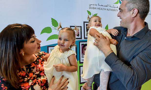 Dubai children born through fertility treatments celebrate family day
