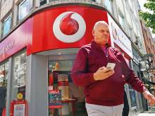 Vodafone dials up 6.3b euro annual net loss
