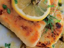 Recipe: Fish fillets with lemon and capers