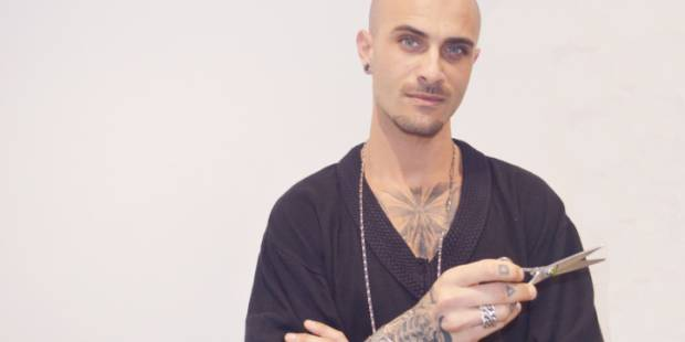 An edgy haircut with JetSet's Simone Resta