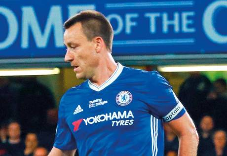 Terry bow adds a poignant note to Chelsea party