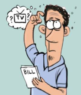 Watch TV charges