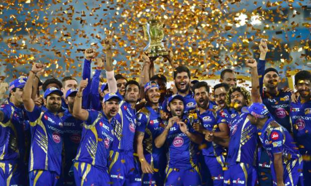 Pictures: Mumbai beat Pune to win IPL title