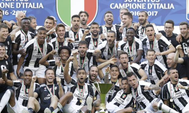 Pictures: Juventus clinches Serie A title