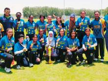 Desert Cubs women's team win ECB league title