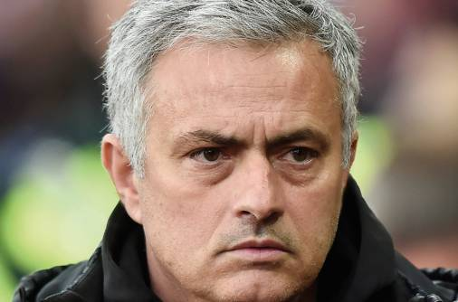 Manchester United's Mourinho has admitted defeat