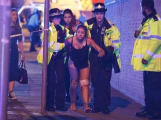 22 dead, 59 hurt in blast at Ariana Grande gig