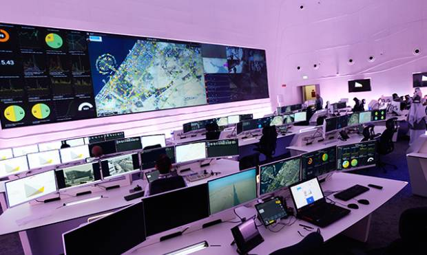 This centre controls all Dubai traffic