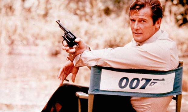 Sir Roger Moore: A Life in Pictures