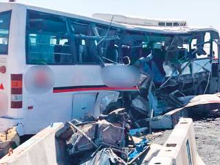 Survivor recalls Dubai bus crash horror