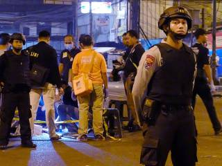 Three killed in Jakarta twin blasts