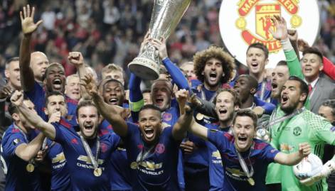 Pictures: Man United win Europa League