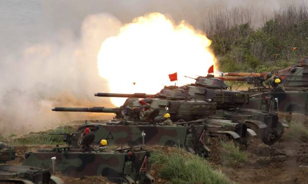 Taiwan war games simulate China invasion
