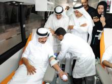 Blood donation bus launched in Dubai