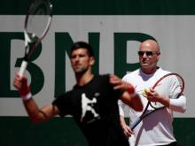 Wife Graf told Agassi to take Djokovic job