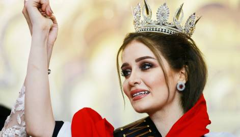 Viyan Amir wins Miss Iraq 2017 crown