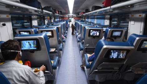 Inside India's new luxury train