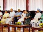 Congress President Sonia Gandhi chairing a meeting of the opposition leaders to discuss the strategy for the upcoming Presidential elections, in New Delhi.
