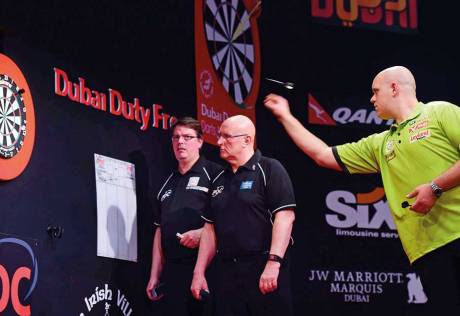Darts can weather Taylor TV dip, PDC chief says