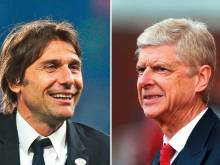 Conte offers support to underfire Wenger