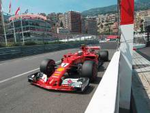 Raikkonen lands pole after nine years in Monaco