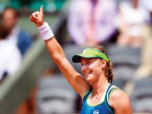Pressure tells as Kerber makes first round exit