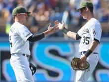 Lester, Kershaw rocked in Dodgers' sweep of Cubs