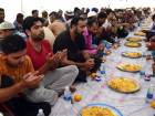 Iftar tents help labourers save on food