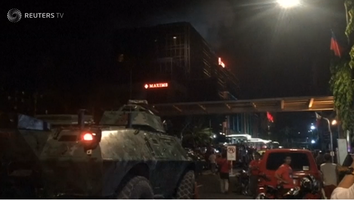 Gunman in Manila hotel attack dead from self-inflicted gunshot, police report