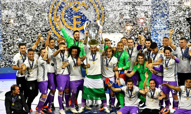 Real Madrid make European football history