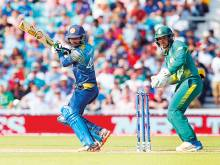 Lanka hit hard with two-match ban on Tharanga