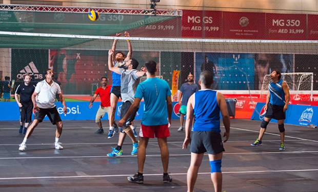 Indoor sports mania at Dubai Sports World