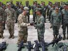 US hands over weapons for counter terror drive