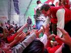 Mexico's ruling party narrowly wins state poll