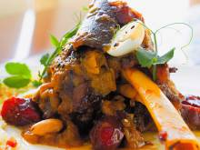 Recipe: Lamb confit with dates and almonds