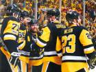 Penguins rout Predators, edge toward Stanley Cup