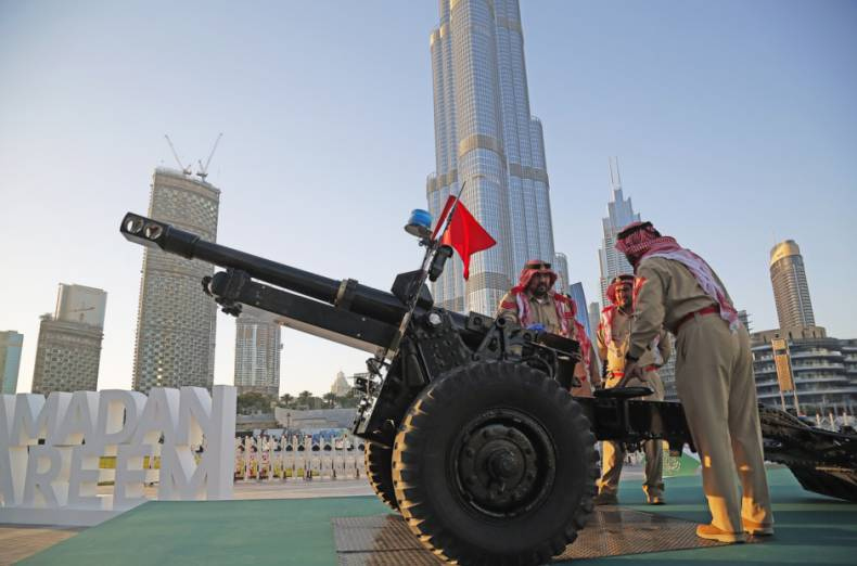 Image result for ramadan cannon uae