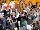 Warriors win second NBA title in three seasons