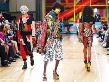 Vivienne Westwood at her outlandish best at show