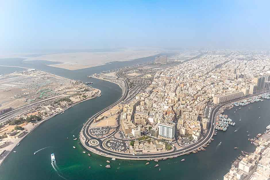 Reach Mashreq Heritage Deira Creek aerial for web